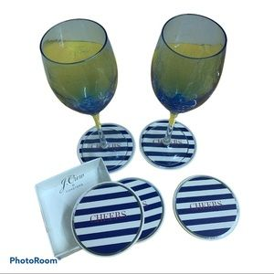 3 for $30 J. Crew Drink Coasters set of 5